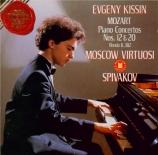 MOZART - Kissin - Concerto pour piano et orchestre n°20 en ré mineur K.4