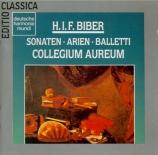 Sonates, arias et musiques de ballets