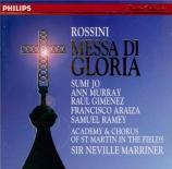 ROSSINI - Marriner - Messa di gloria