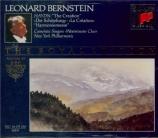 HAYDN - Bernstein - Die Schöpfung (La création), oratorio pour solistes