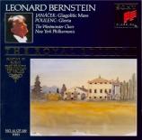 JANACEK - Bernstein - Messe glagolitique