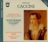 Intégrale des madrigaux et arias Vol.2