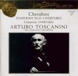 CHERUBINI - Toscanini - Symphonie en ré majeur