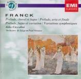 FRANCK - Ciccolini - Prélude, choral et fugue, pour piano en si mineur F