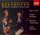 BEETHOVEN - Perlman - Trio à cordes op.3