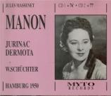 MASSENET - Schüchter - Manon