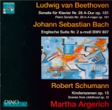 BEETHOVEN - Argerich - Sonate pour piano n°28 op.101