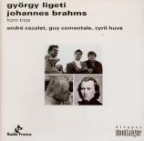 LIGETI - Huvé - Trio pour violon, cor et piano