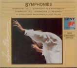 Symphonies - Rehearsals and Talks