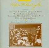 DEBUSSY - Furtwängler - Nuages, pour orchestre en si mineur L.91 n°1