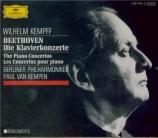 BEETHOVEN - Kempff - Concerto pour piano n°1 en ut majeur op.15