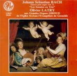 BACH - Latry - Six sonates en trio pour orgue BWV 525-530