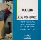 SATIE - Exerjean - La belle excentrique, fantasie sérieuse