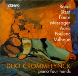 French Masterpieces for Piano 4 Hands