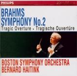 BRAHMS - Haitink - Symphonie n°2 pour orchestre en ré majeur op.73