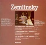 ZEMLINSKY - Albrecht - L'anniversaire de l'infante