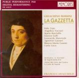 ROSSINI - Caracciolo - La gazzetta (live Napoli, 27 - 9 - 1960) live Napoli, 27 - 9 - 1960