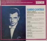 Ses grands concerts en public 1953 / 1956