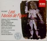 MOZART - Rosbaud - Le nozze di Figaro (Les noces de Figaro), opéra bouff Aix-en-Provence, juillet 1955
