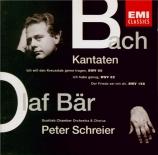 BACH - Schreier - Ich habe genug, cantate pour basse et orchestre BWV.82