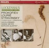 PROKOFIEV - Kremer - Ouverture sur des thèmes juifs, pour clarinette, de