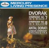 DVORAK - Dorati - Symphonie n°7 en ré mineur op.70 B.141