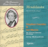 MENDELSSOHN-BARTHOLDY - Coombs - Concerto double pour deux pianos et orc