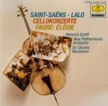 SAINT-SAËNS - Schiff - Concerto pour violoncelle n°1 op.33