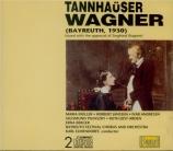 WAGNER - Elmendorff - Tannhäuser WWV.70 (Bayreuth, 1930) Bayreuth, 1930