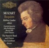 MOZART - Goodman - Requiem pour solistes, choeur et orchestre en ré mineu Robbins Landon Edition (first recording)