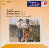 DVORAK - Szell - Huit danses slaves op.46, version pour orchestre op.46