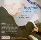 BRAHMS - Wild - Quatre ballades pour piano op.10 'Edward'