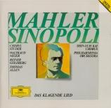 MAHLER - Sinopoli - Das klagende Lied (Le chant plaintif), cantate profa