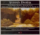 DVORAK - Vlach Quartet - Quatuor à cordes n°9 en ré mineur op.34 B.75