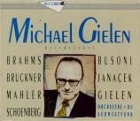 Michael Gielen dirige l'orchestre du Sudwestfunk