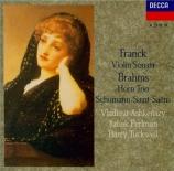 FRANCK - Ashkenazy - Sonate pour piano et violon en la majeur FWV.8