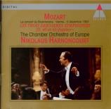 MOZART - Harnoncourt - Symphonie n°39 en mi bémol majeur K.543