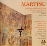MARTINU - Neumann - Concertino pour trio (violon, violoncelle et piano)