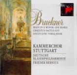 BRUCKNER - Bernius - Messe n°2 en mi mineur WAB 27