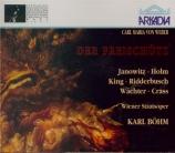 WEBER - Böhm - Freischütz (Der) (Live Wien 28 - 5 - 72) Live Wien 28 - 5 - 72
