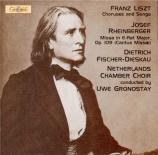 LISZT - Gronostay - Psaume 129, pour voix avec ou sans chœur et piano ou