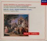 Musica espanola : Musique de compositeurs étrangers