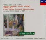 Musique espagnole pour harpe & violon
