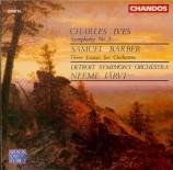IVES - Järvi - Symphonie n°1 en ré mineur