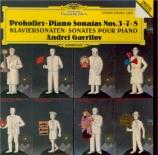 PROKOFIEV - Gavrilov - Sonate pour piano n°3 en la mineur op.28 'From ol