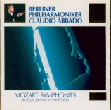MOZART - Abbado - Symphonie n°28 en do majeur K.200 (K6.189k)