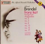 LISZT - Brendel - Rhapsodie hongroise n°15, pour piano en la mineur S.24