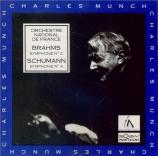BRAHMS - Munch - Symphonie n°2 pour orchestre en ré majeur op.73