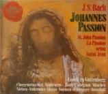 BACH - Guttenberg - Passion selon St Jean(Johannes-Passion), pour solis