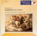 BEETHOVEN - Szell - Symphonie n°2 op.36